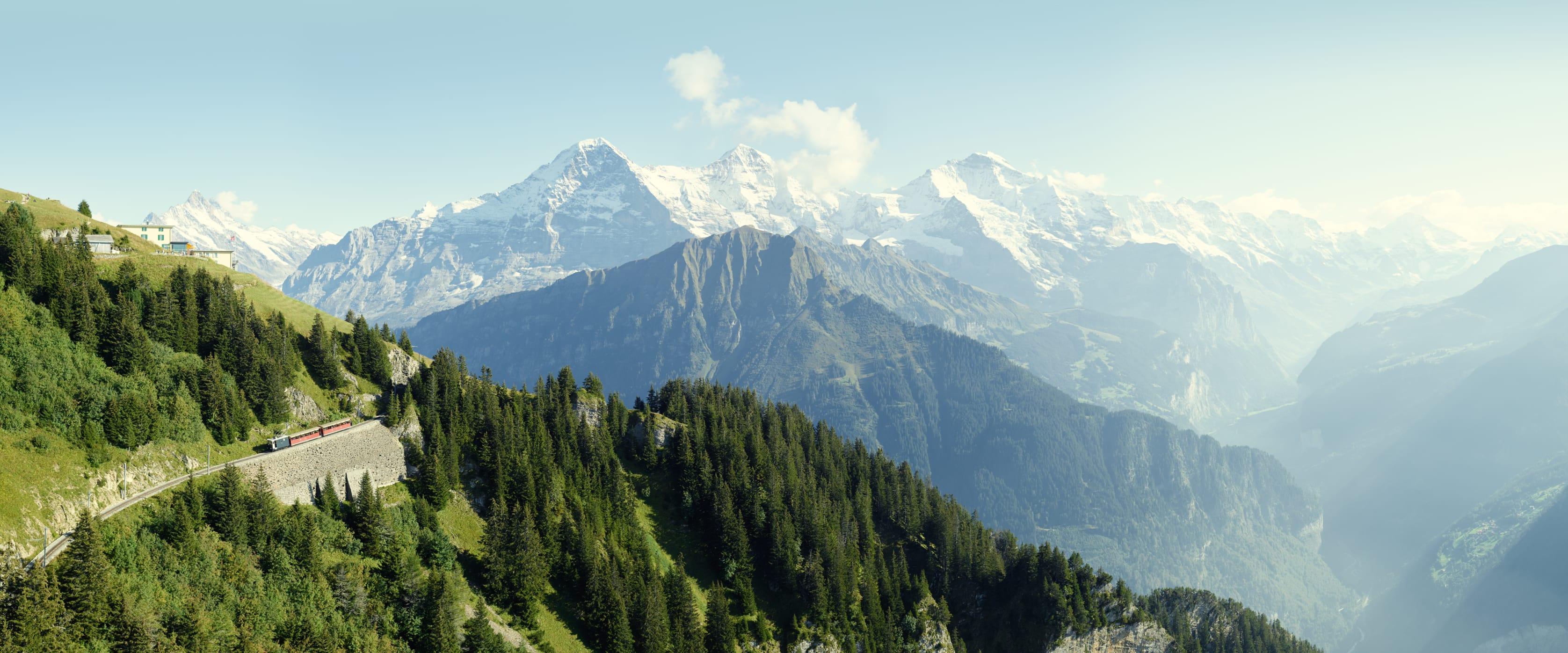 Schynige Platte Bergbahn Eigernordwand Moench