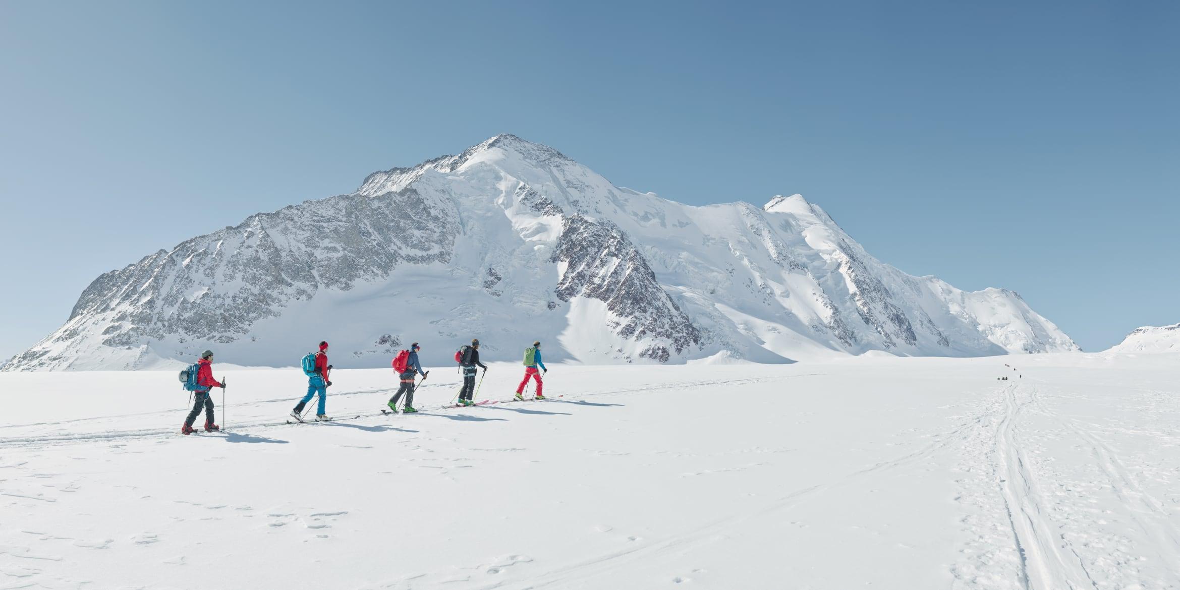 Jungfrau-Ski-Region, Skigebiet-Grindelwald-Wengen, Skitour, Winter