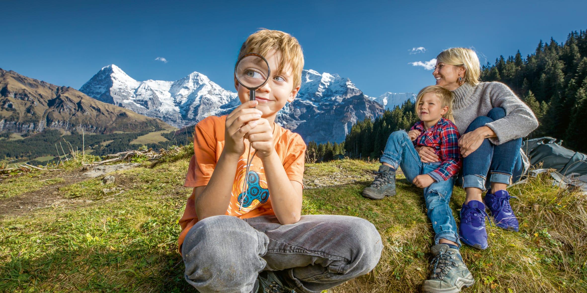 Detektiv Trail Winteregg Muerren