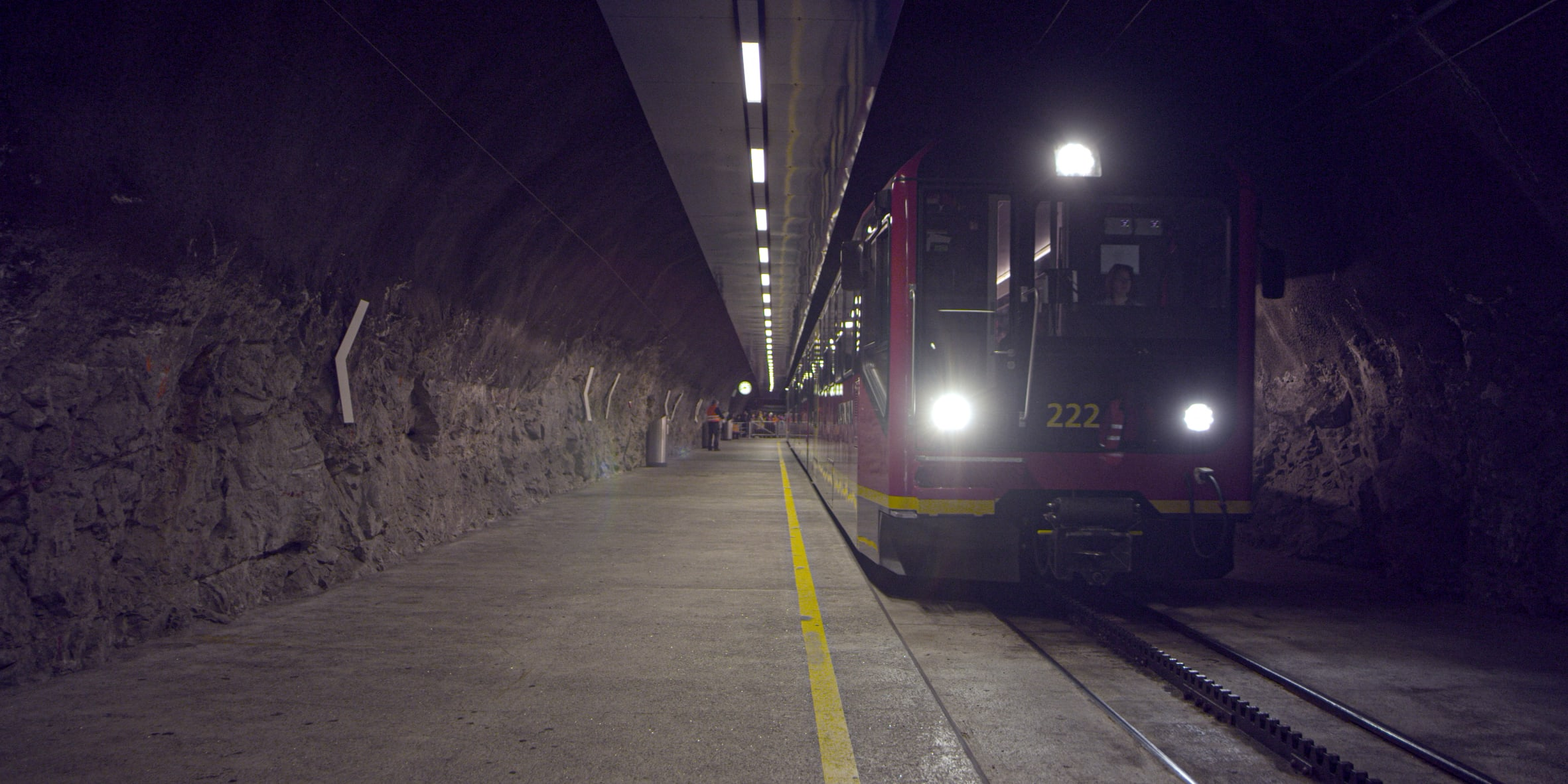 [Translate to English:] Bahnhof Jungfraujoch Top Of Europe