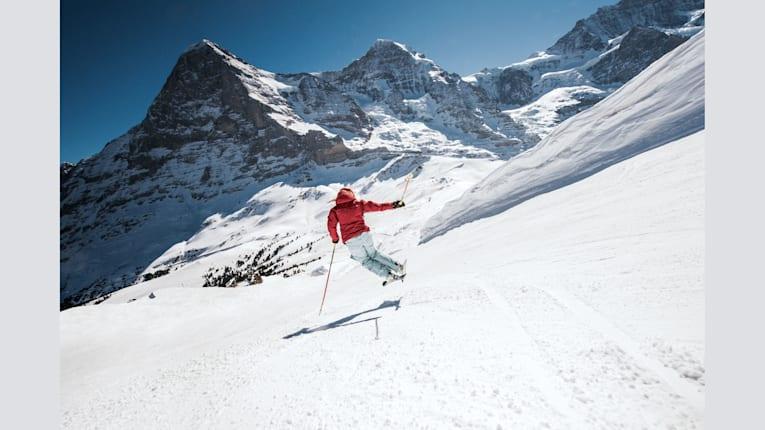 Jungfrau Ski Region mit über 1 Million Skier Visits