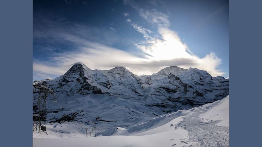 Start in die Wintersportsaison in der Jungfrau Ski Region