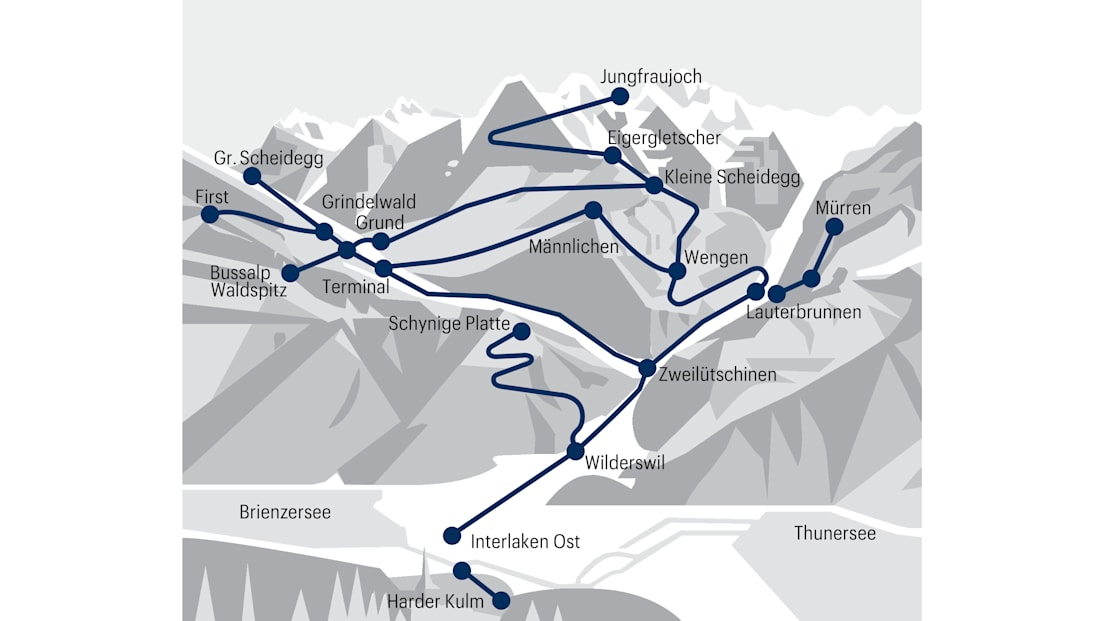 Jungfrau Corona Pass Geltungsbereich