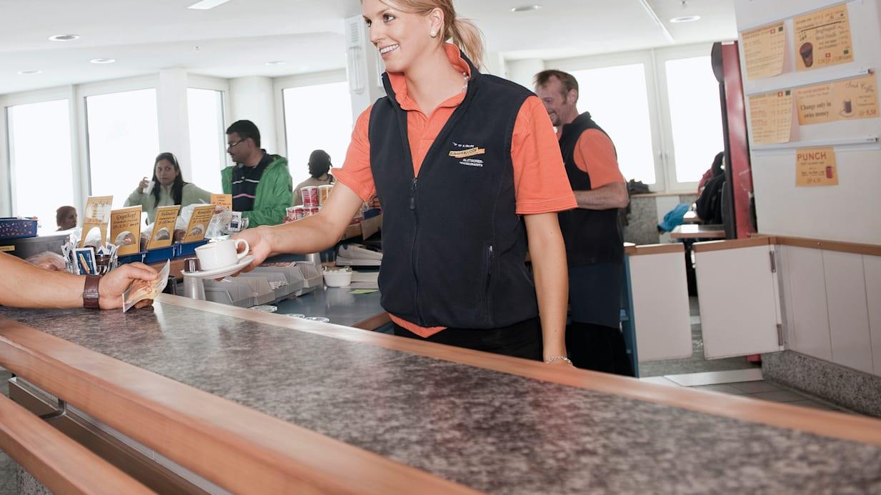 Café-Bar, Gastro, Innenaufnahme, Jahreszeit, Jungfraujoch-Top-of-Europe, jungfrau.ch