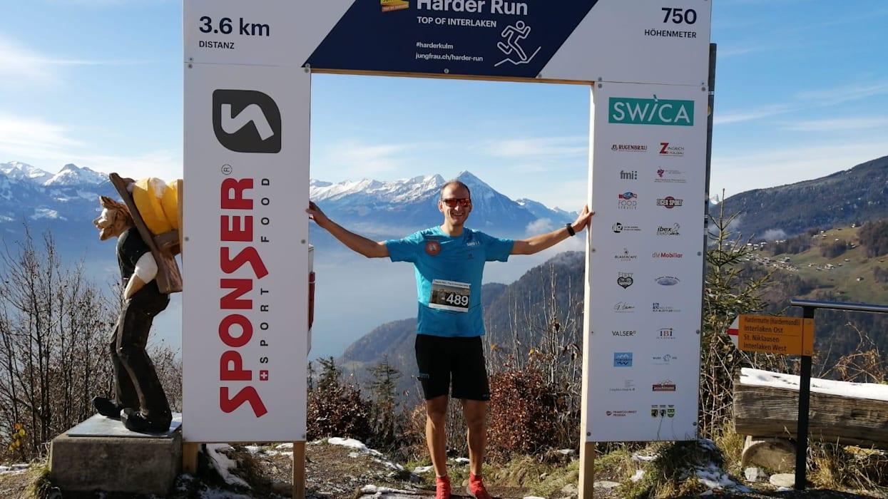 Harder Run Joey Hadorn