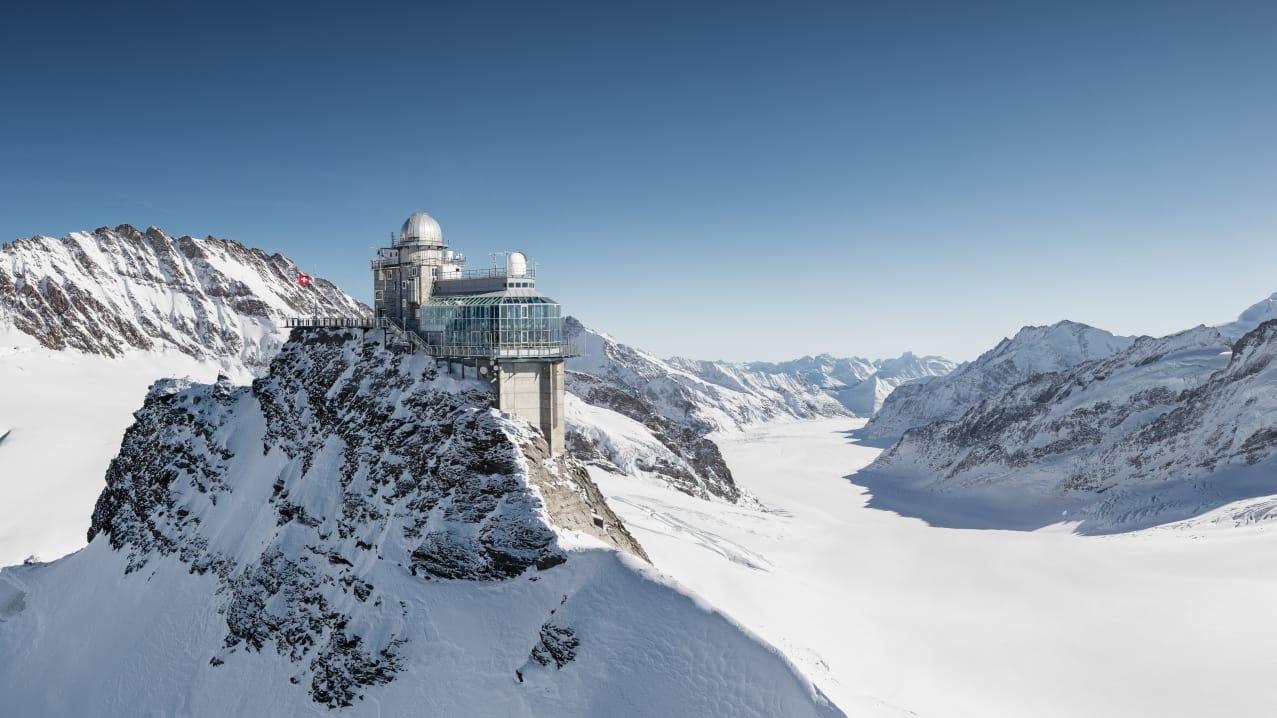Jahreszeit, Jungfraujoch-Top-of-Europe, Winter, jungfrau.ch