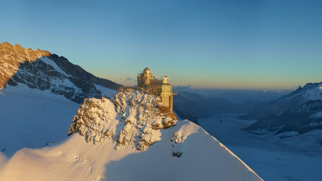 Jungfraujoch Top Of Europe Jungfrau Ch
