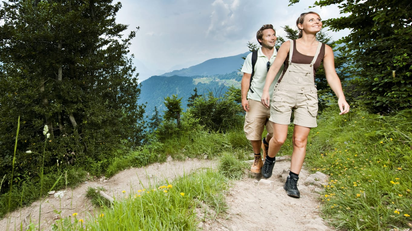 Wandern Harder Kulm Interlaken Wanderticket