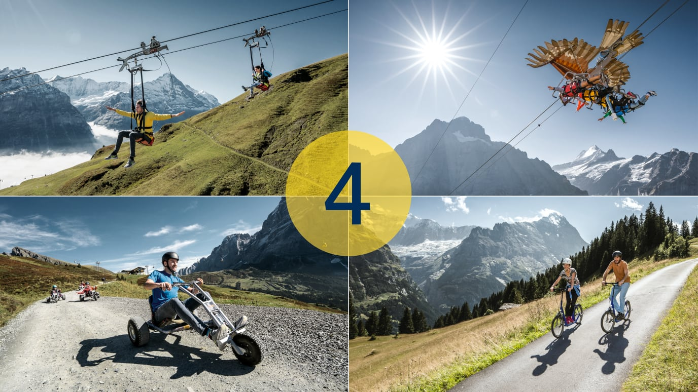 Adventure Packages Grindelwald First 4 Aktivitaeten