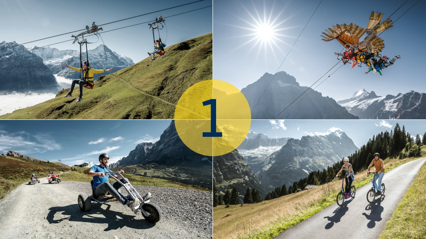 Adventure Packages Grindelwald First 1 Aktivitaet