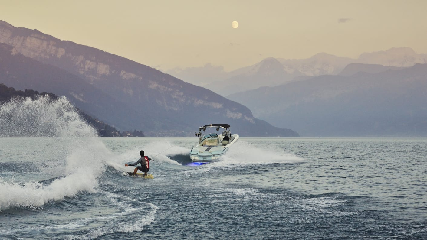 Interlaken Thunersee Adventure Wakeboarden