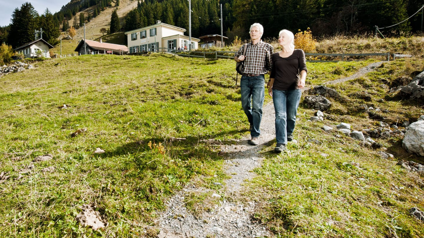 Wanderticket Breitlauenen Schynige Platte