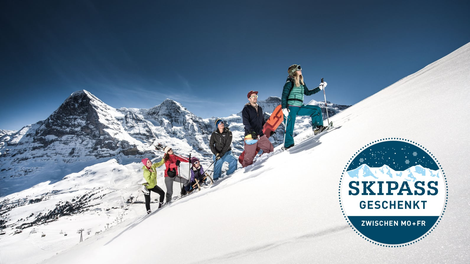 Jungfrau Ski Region Wer das Beste will