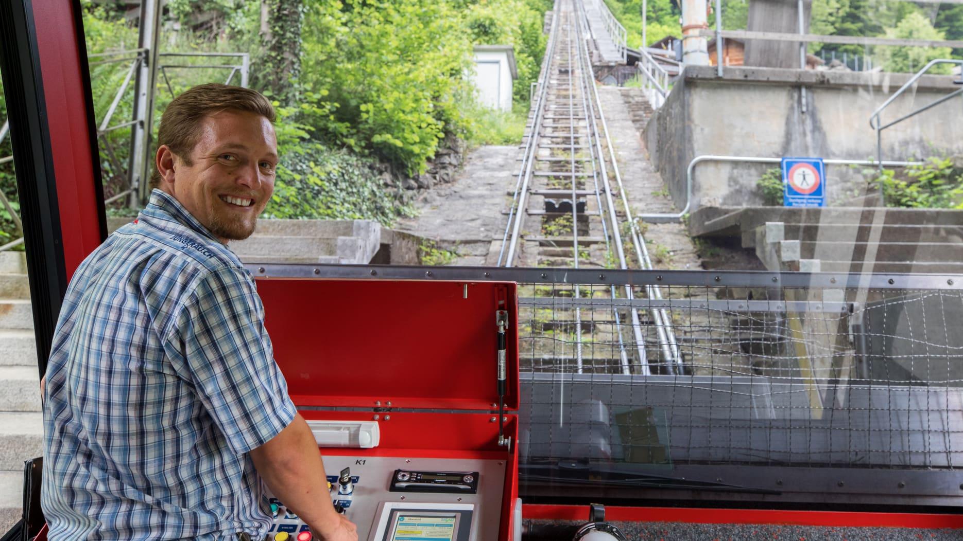 Mitarbeiter Jungfraubahnen, Patrick-Fuchs