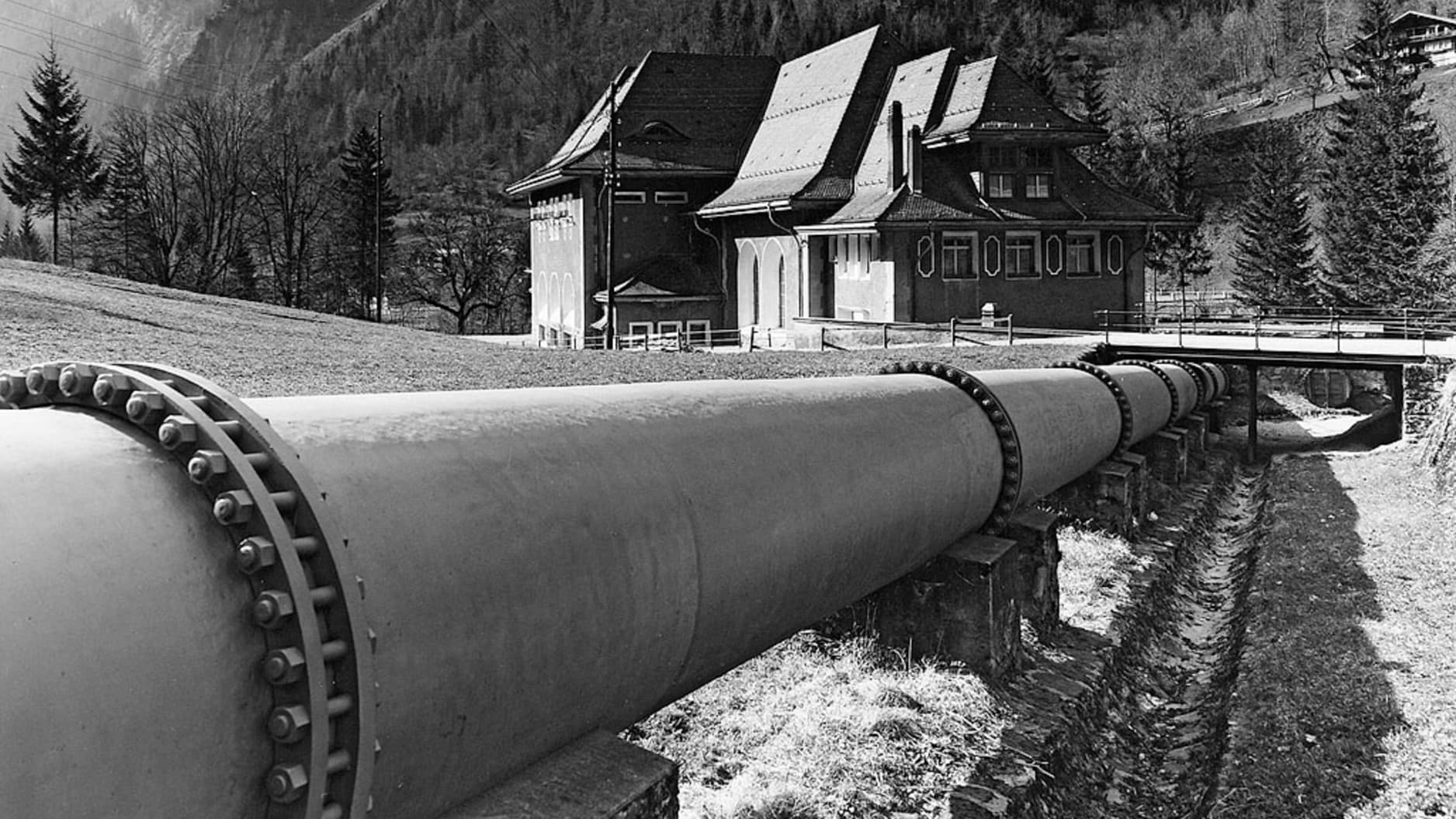 Bau der Jungfraubahn15