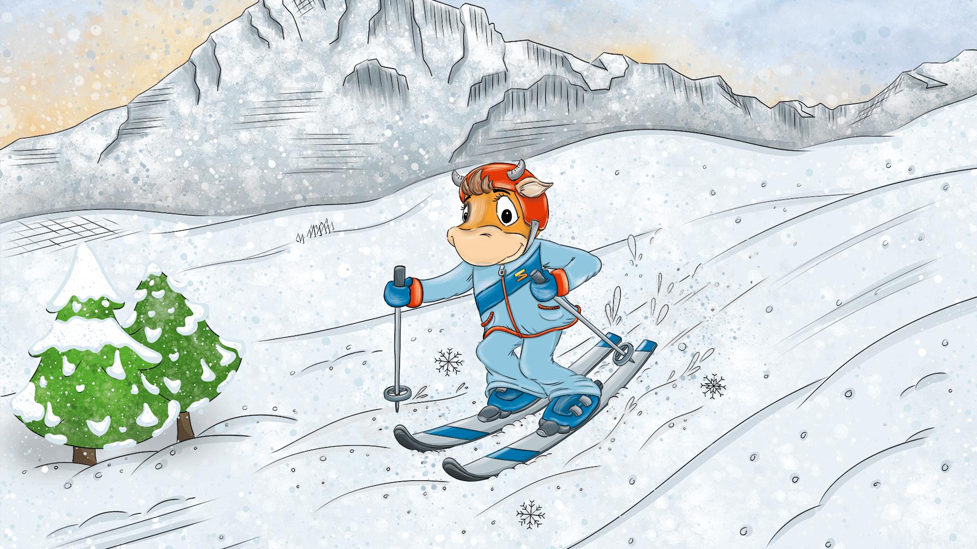 Lily Skifahren