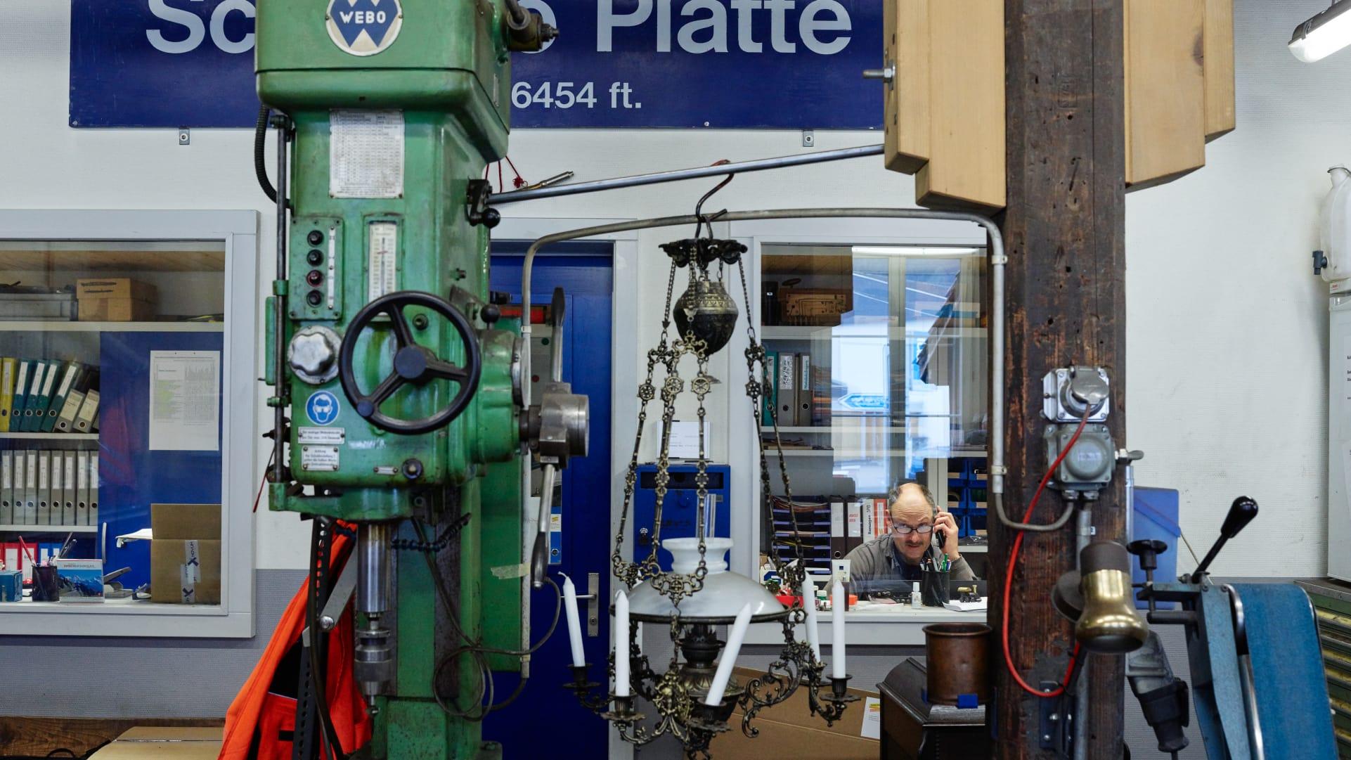 Schynige Platte Bahn Werkstatt Wilderswil