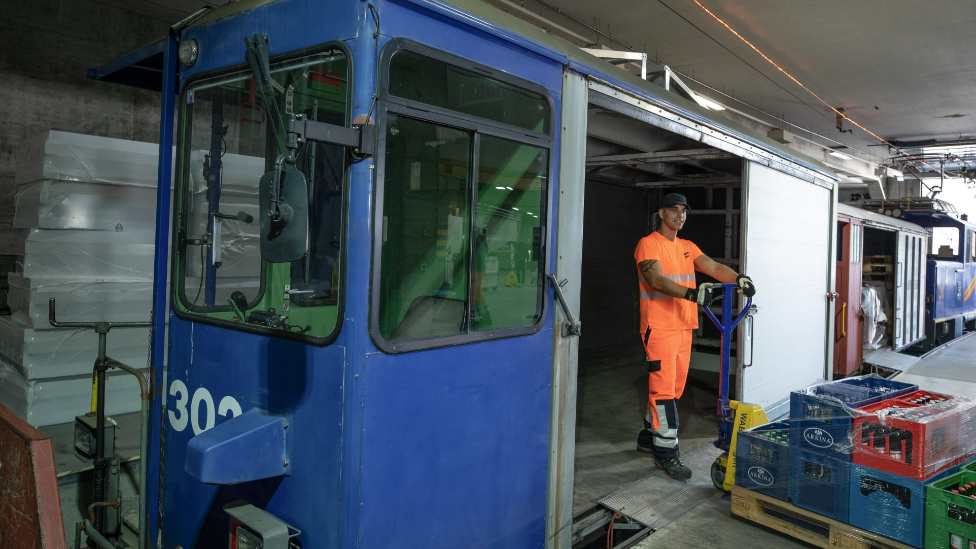 Betriebsangestellter Jungfraubahnen Rafael Amanao 2