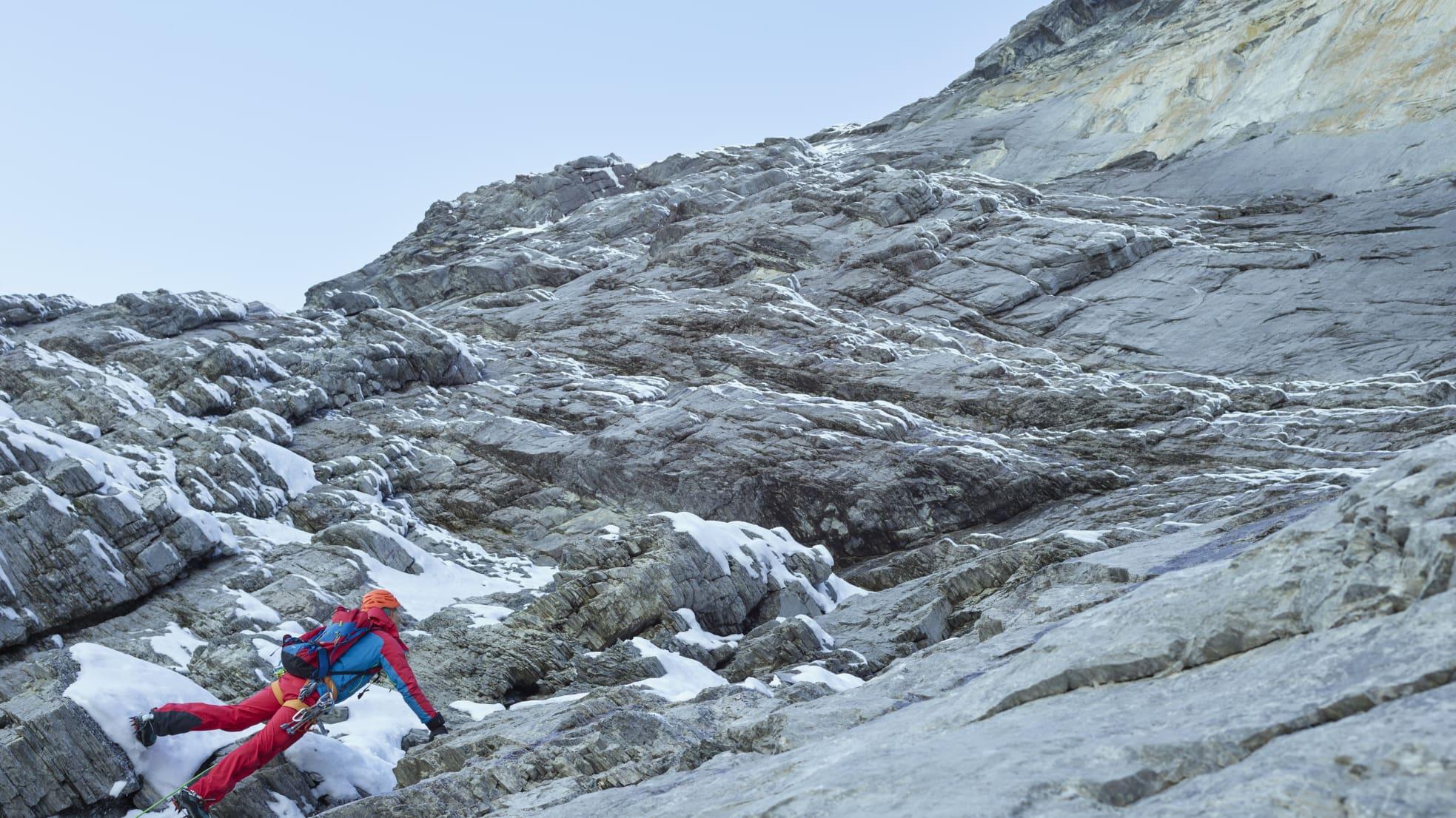 Eigernordwand Klettern Bergfuehrer