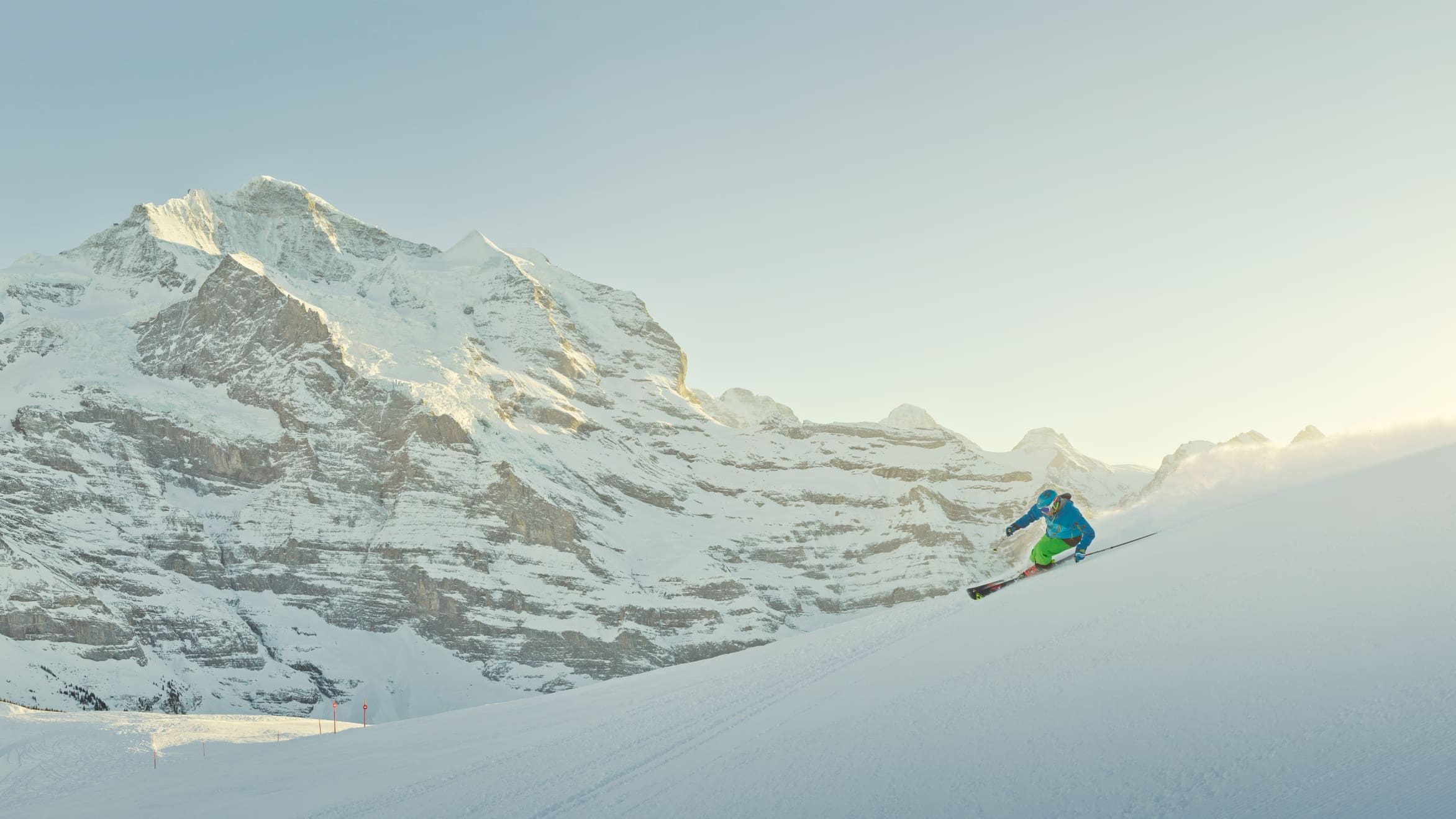 Skiing Grindelwald Wengen Kleine Scheidegg Maennlichen