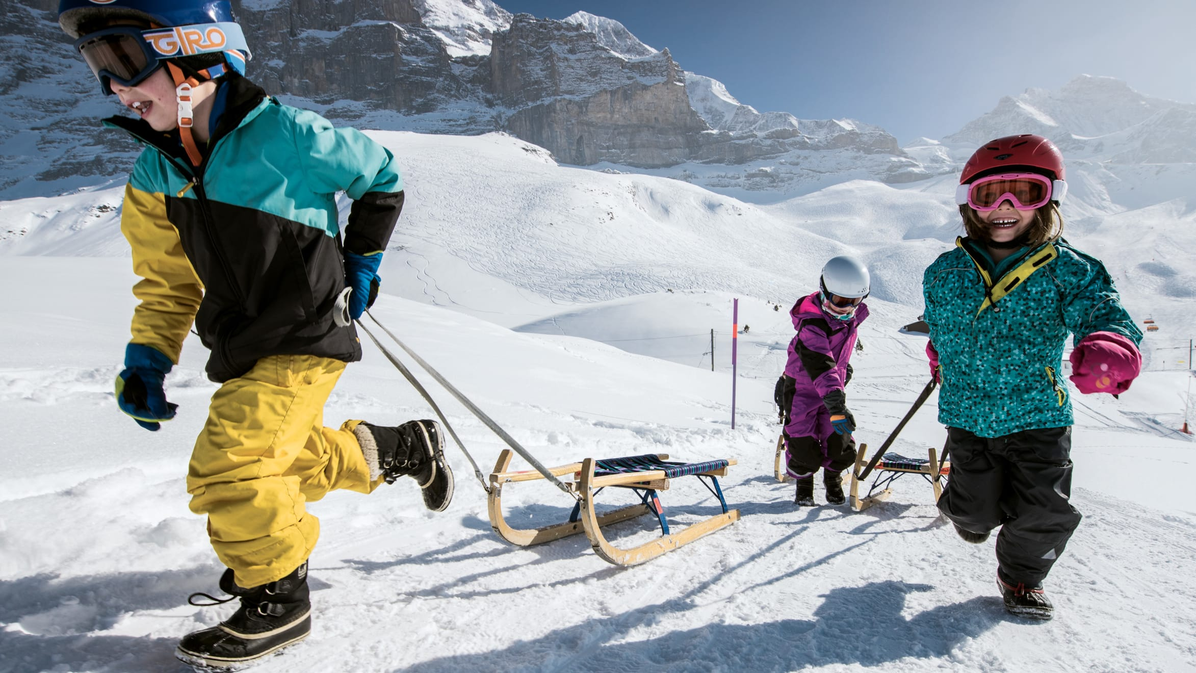 Grindelwald-Wengen sledging day ticket
