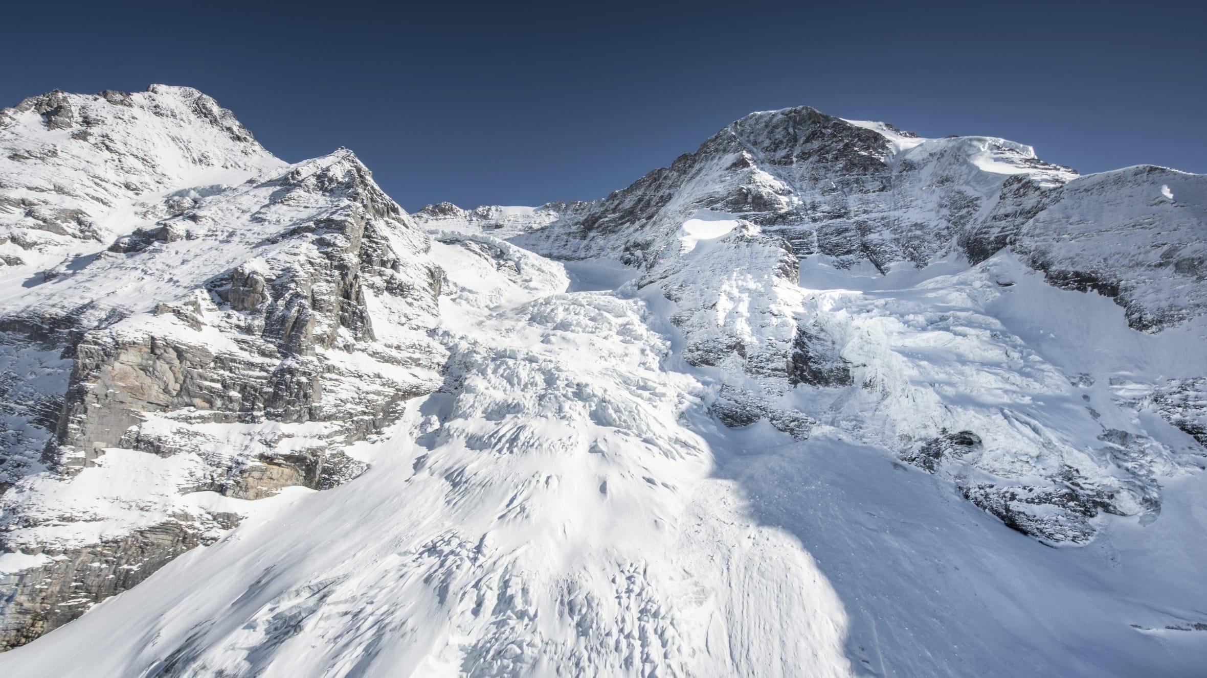 Kleine Scheidegg Eigergletscher Winter