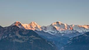 Harder Kulm Interlaken Eiger Moench Jungfrau