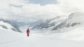 Wandern Aletschgletscher Konkordiaplatz Bergfuehrer Sommer