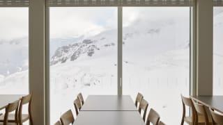Jungfraujoch Restaurant Bollywood Aussicht