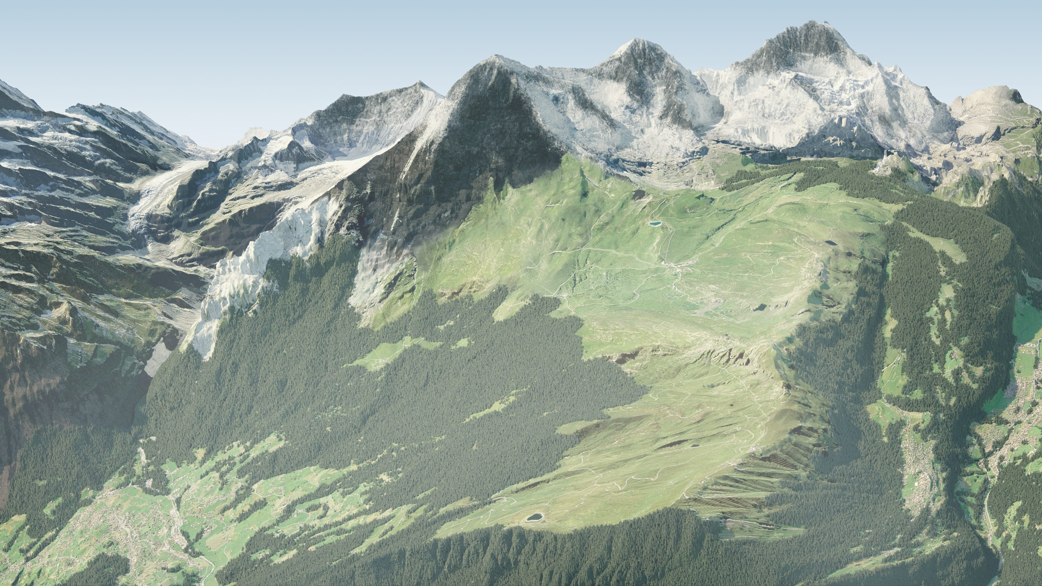 Grindelwald-Wengen (Summer)