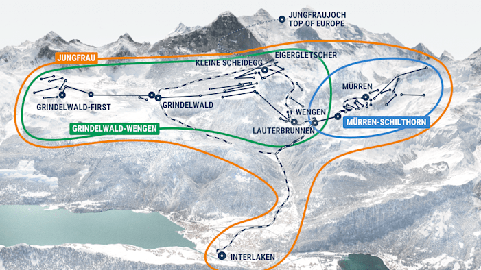 Jungfrau Ski Region
