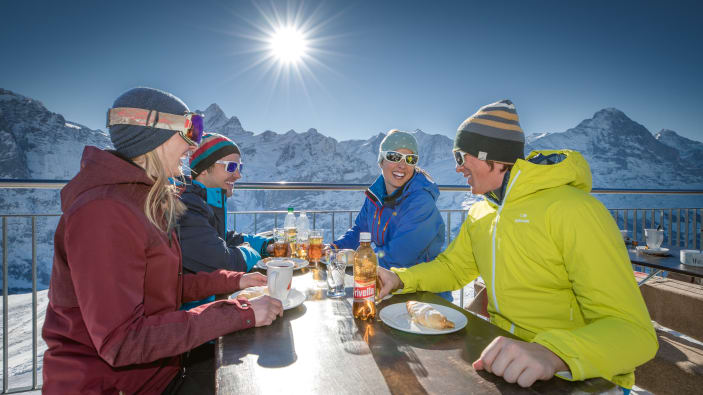 Eiger, First, Grindelwald, Grindelwaldfisrt, Jungfraubahnen, Skifahren, Skiing, WEBSEITE_Skigebiet-Grindelwald-First, Winter, Wintersports