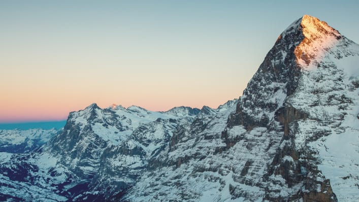 Eiger Grindelwald Winter