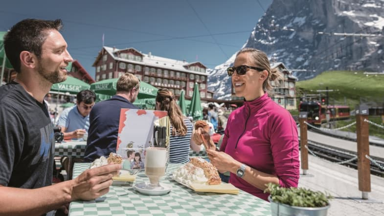 Bergrestaurant Kleine Scheidegg Food