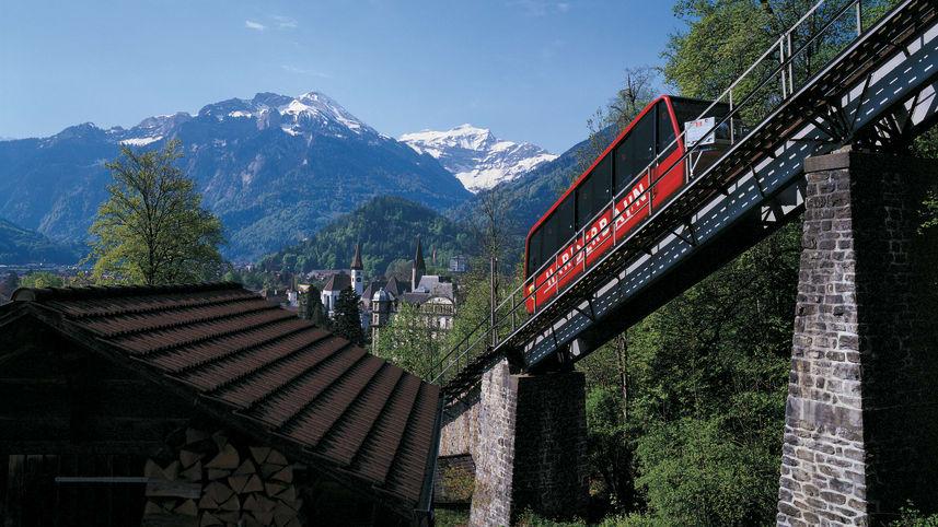 Jungfrau harderbahn interlaken berner oberland