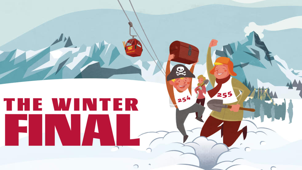 The Winter Final Event Schatzsuche im Schnee Grindelwald First