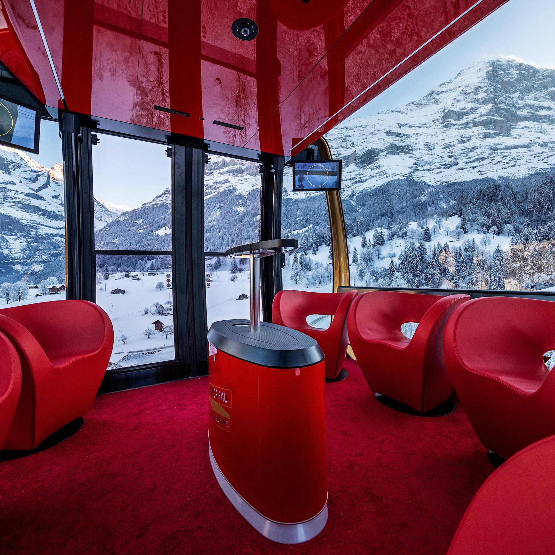 V-Cableway gondola