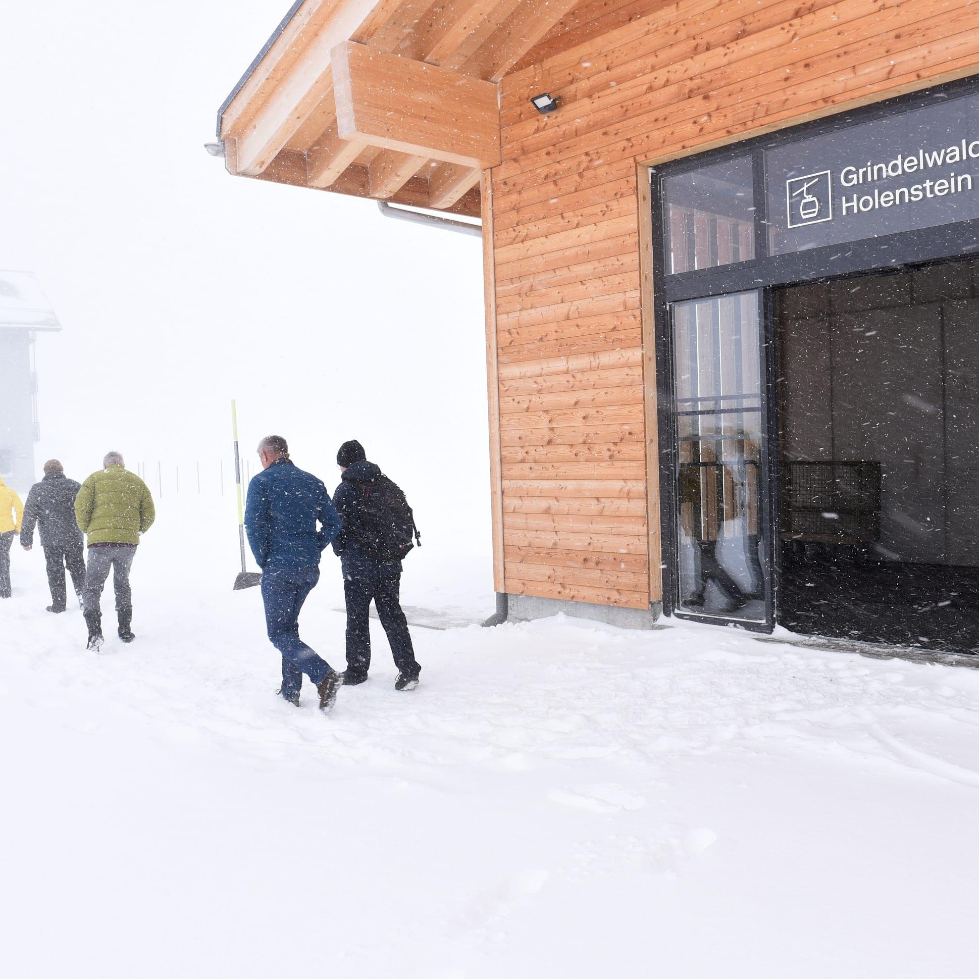 Opening GGM summit station Dec. 2019