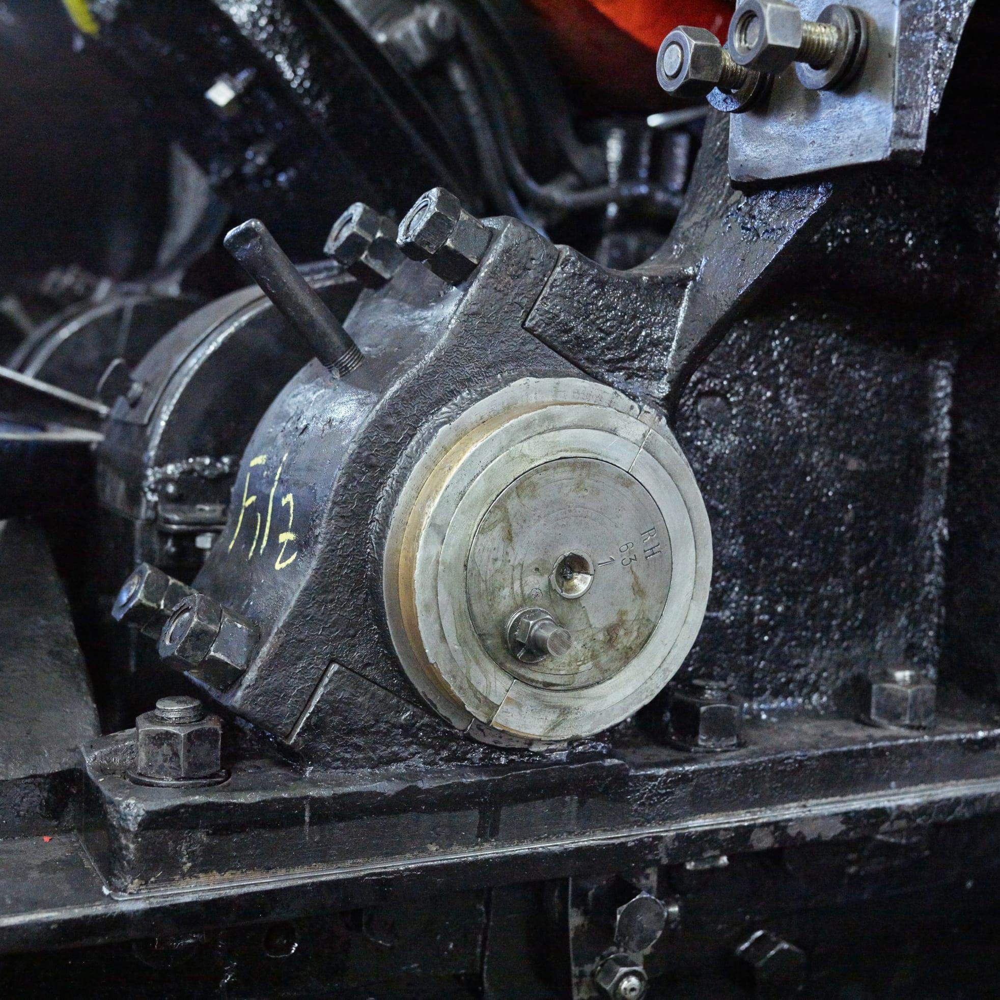 Schynige Platte Bahn Revision Rollmaterial Gleitlager