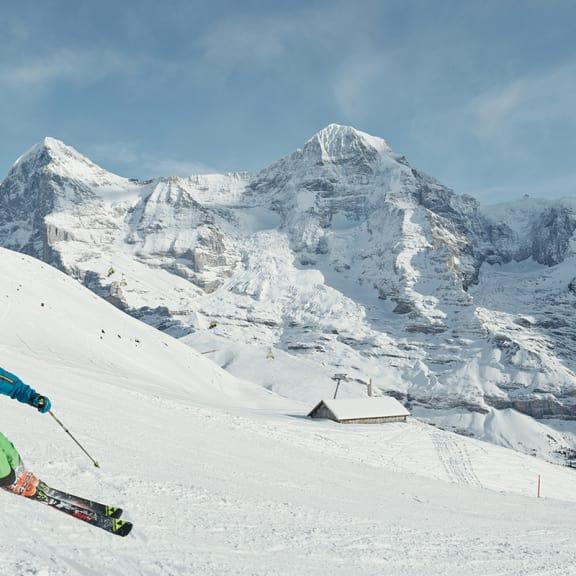 Erlebnisse-Aktivitaeten, Jungfrau-Ski-Region, Ski, Skigebiet-Grindelwald-Wengen, Winter