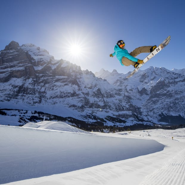 Grindelwald, Jungfraubahnen, Winter, WhiteElements, Freestylepark, Halfpipe, Eiger, First, Grindelwaldfirst, Wintersports, Freestyle