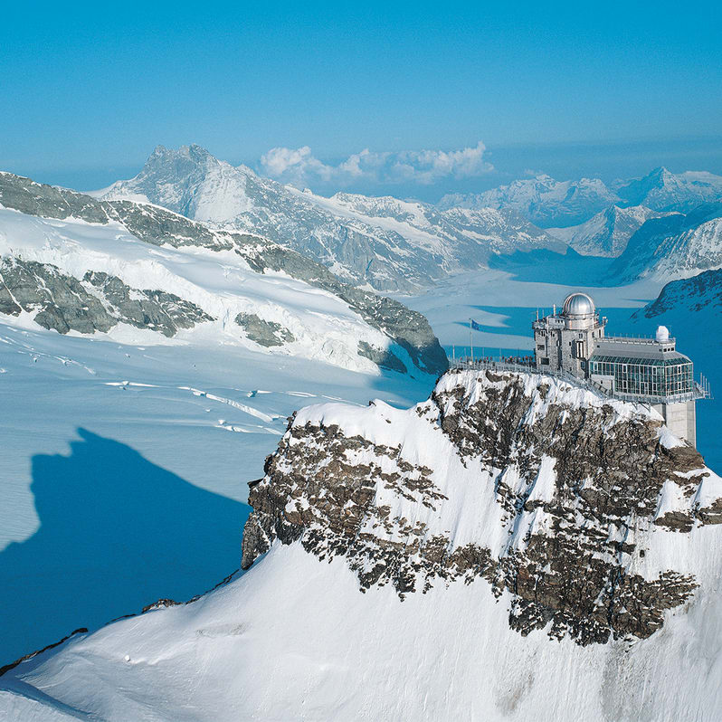 Winter, Jungfraujoch-Top of Europe