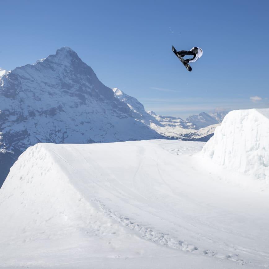 Grindelwald, Jungfraubahnen, Winter, Snowboarding, Freestyle, Park, Freestylepark, White Elements, Eiger, First, Grindelwaldfisrt, Wintersports