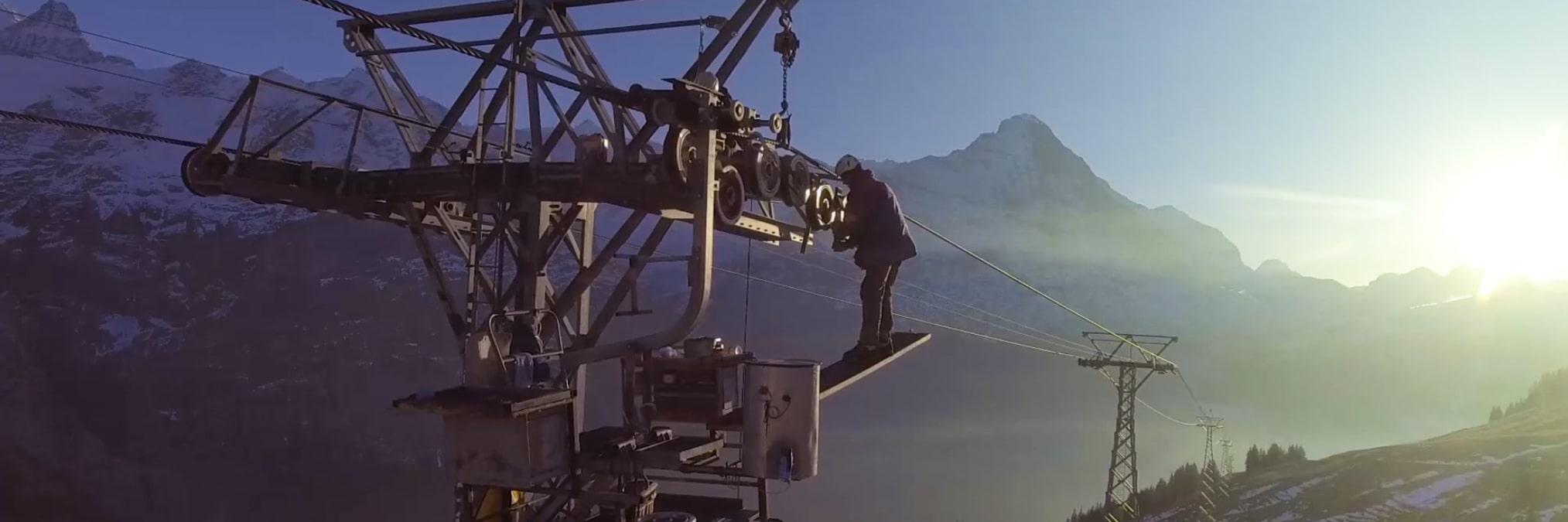Seilbahnfachmann Seilbahnmechatroniker Jungfraubahnen