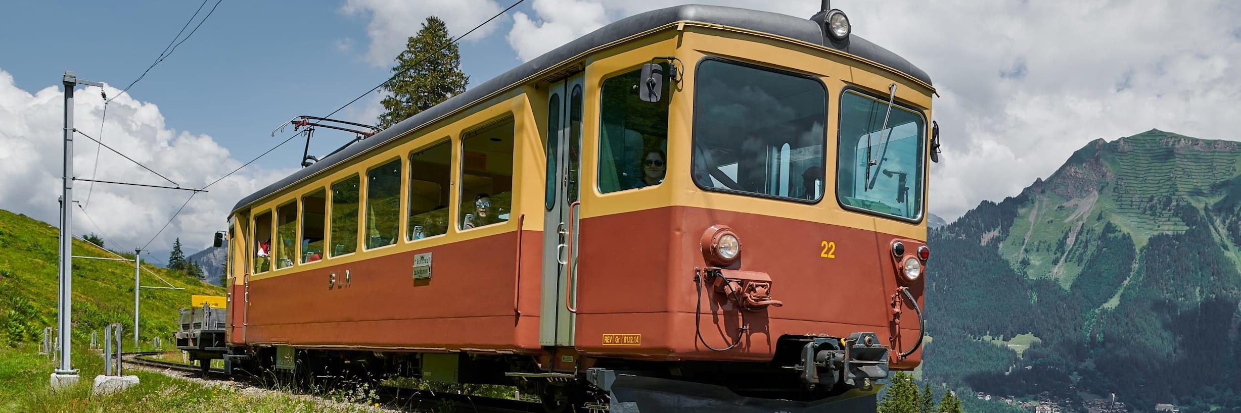 Bergbahn Lauterbrunnen Muerren