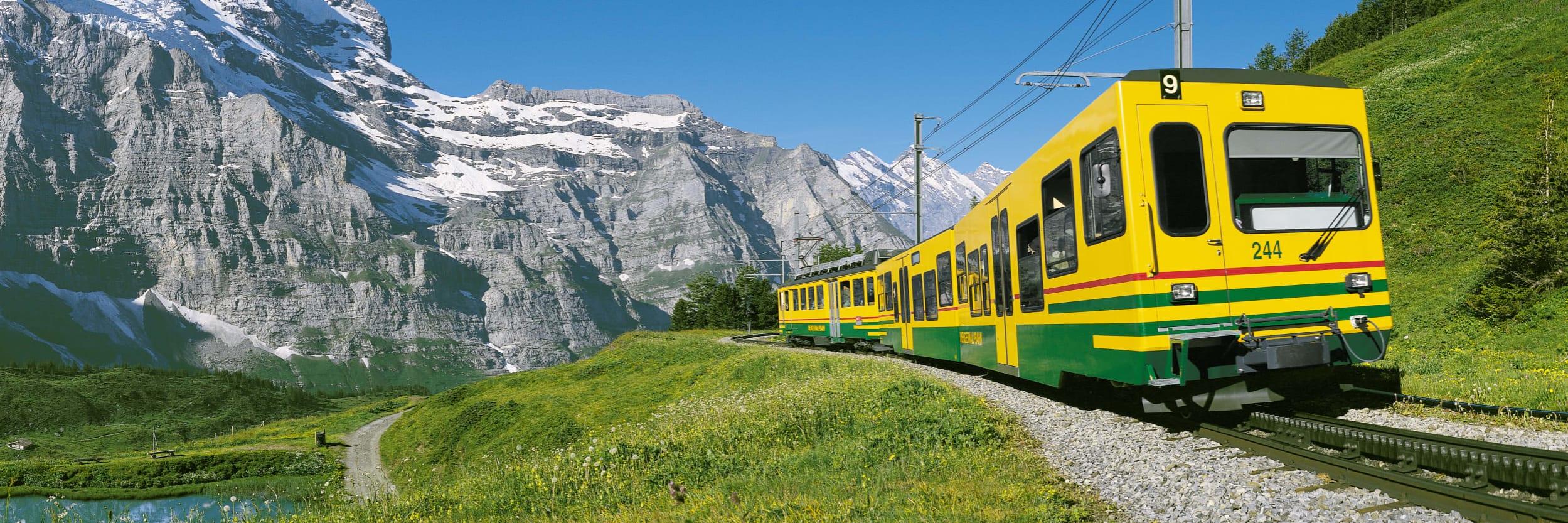 Wengernalpbahn Sommer