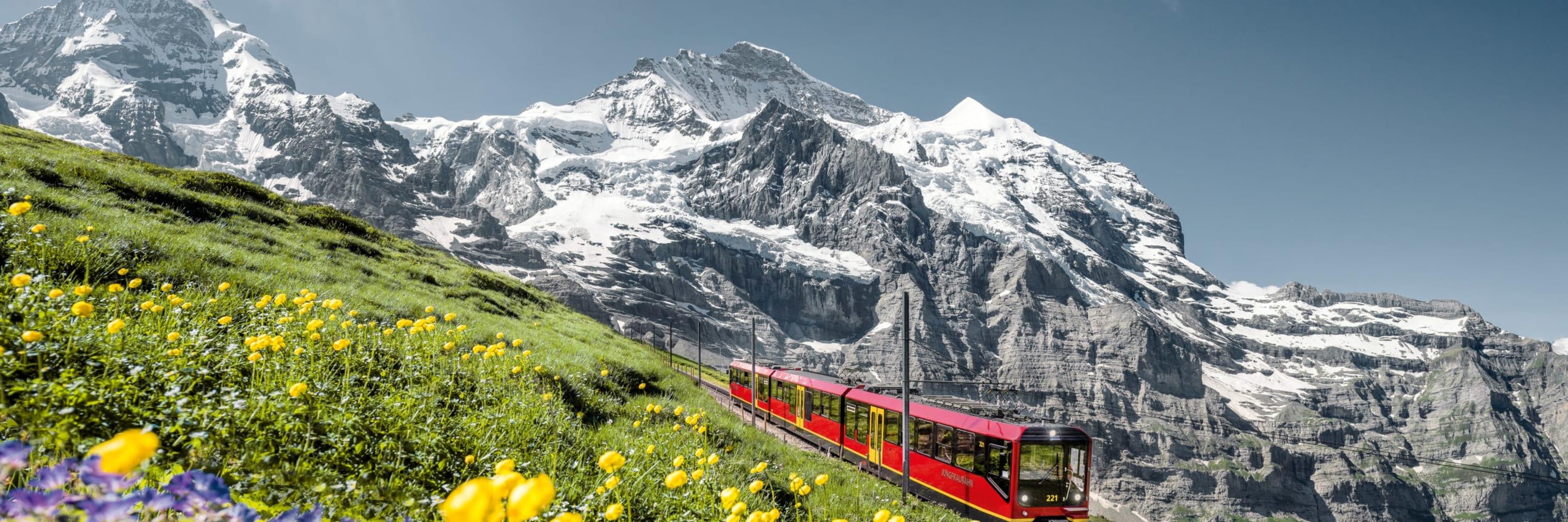 Jungfraubahn Sommer