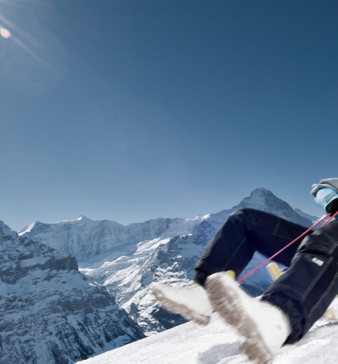 Schlitteltageskarte Grindelwald First