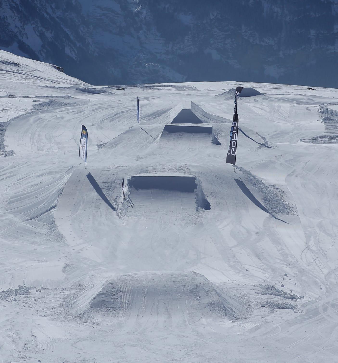 White Elements Grindelwald First Beginner Park