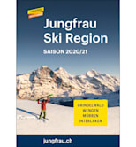 Jungfrau Ski Region Pistenplan Pocket Map